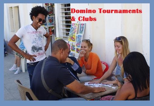 People Playing Domino Tournament